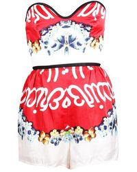Alice McCALL Playsuit - Rosso