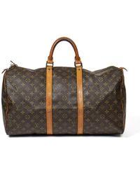 Louis Vuitton Keepall 50 - Marrone