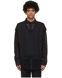Martin Asbjorn Gavin Shirt Vest - Zwart