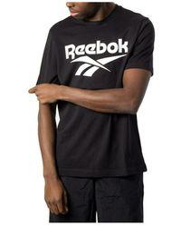 Reebok T-shirt - Zwart