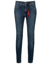 ANGELS Slim Jeans - Blauw