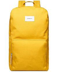 Sandqvist Backpack Kim - Geel