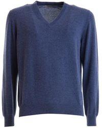 Corneliani Sweater - Blauw