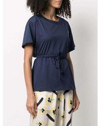 KENZO - Blocked T-Shirt Azul - Lyst