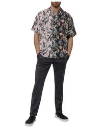 Represent - Shirt Negro - Lyst