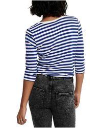 Lacoste Camiseta Rosely - Bleu