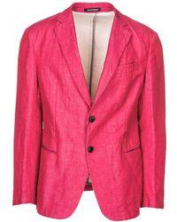 Emporio Armani Men's Jacket Blazer - Roze
