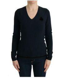 CoSTUME NATIONAL V-neck Sweater - Blu