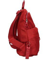 Mandarina Duck Qntz4 Backpack - Rosso