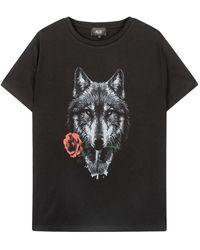 Alix The Label T-shirt 207862817 - Zwart