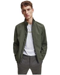 Calvin Klein K10k105607 Casual Jack Jacket - Groen