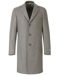Canali Wool coat kei style - Neutre