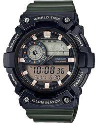 G-Shock Illuminator World Time 5 Alarms - Zwart