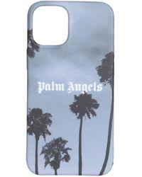 Palm Angels Iphone 12 Mini Cover - Blauw