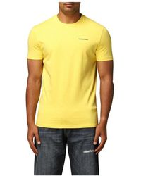 DSquared² T-shirt - Geel