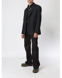 Balenciaga - Camisa con parche del logo Negro - Lyst