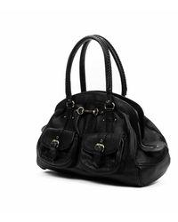 Dior Pre-owned frame satchel - Negro