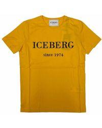 Iceberg F014-6301 T-shirt maniche corte - Jaune