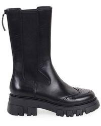 Ash Lennox High Chelsea Boot - Zwart