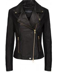 Onstage Biker Jacket - Zwart