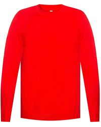 Y-3 Training Top With Long Sleeves - Rood