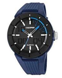Calypso St. Barth Watch UR - K5629_3 - Bleu