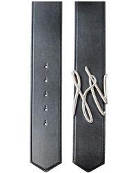 Karl Lagerfeld Belt Negro