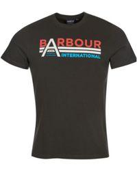 Barbour Tee - Zwart