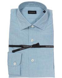 Ermenegildo Zegna Camicia - Blauw