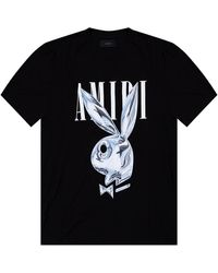 Amiri Logo T-shirt - Zwart