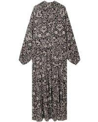 Alix The Label Flower Dress - Zwart