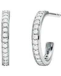Michael Kors Mkc1177an040 Earrings - Grijs