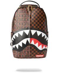 Sprayground Split The Check Backpack - Bruin