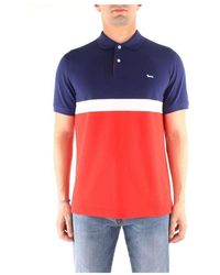 Harmont & Blaine - L0a2620787 Short Sleeves Polo - Lyst