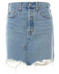 Levi's 77882 0040 - Decon Skirt - Blauw