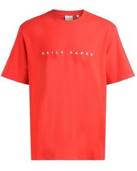 Daily Paper Elias Tee - Rood