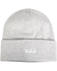 Woolrich Wool Blend HAT - Grau