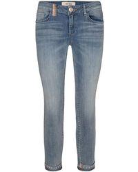 Mos Mosh Jeans 132440 Sumner Ida Troks - Blauw