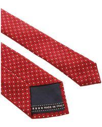 Ermenegildo Zegna - Tie Rojo - Lyst
