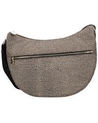 Borbonese 934108i15 Luna Bag - Grijs
