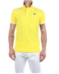 La Martina Rmp006-pk001 short sleeves polo - Giallo