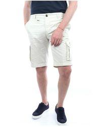 Aeronautica Militare Be066Ct1122 Bermuda shorts - Bianco