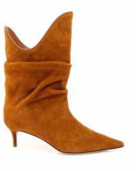 The Attico Ankle Boots 201ws018l007 - Bruin