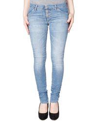 Please P90 Skinny Jeans /blauw