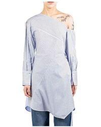 3.1 Phillip Lim Striped Patchwork Tunic - Blu