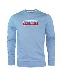 Versace Jeans Couture TJM Essential Split Sweatshirt - Blau