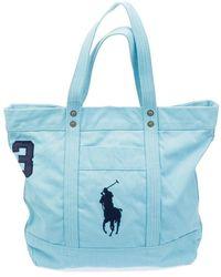 Polo Ralph Lauren BIG PP Tote - Blu