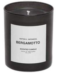 Paolo Pecora Bergamot Candle - Zwart