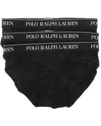 Polo Ralph Lauren 3 Briefs Set - Zwart
