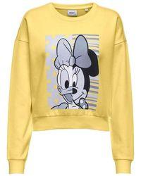 ONLY Sweatshirt - Geel